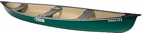 Pellican 15.5 Canoe Green