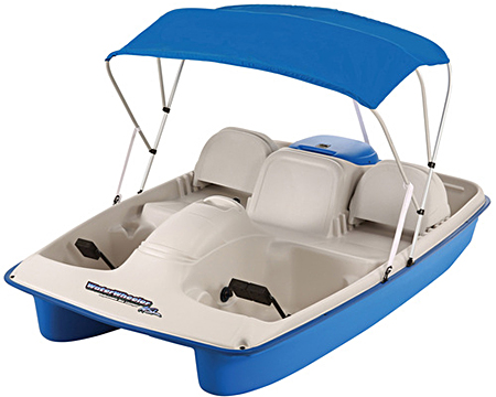 Water Wheeler ASL E Electric Pedal Boat