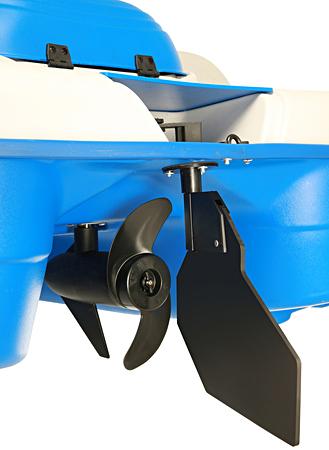Water Wheeler ASL E Prop & Rudder