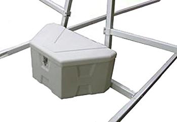 Optional GB3 18L x 18W x 36H - Poly Gear Box