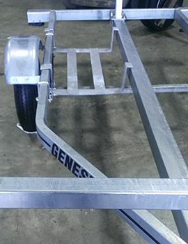 Optional Under Frame Gear Carrier, 26L x 17W x 5D
