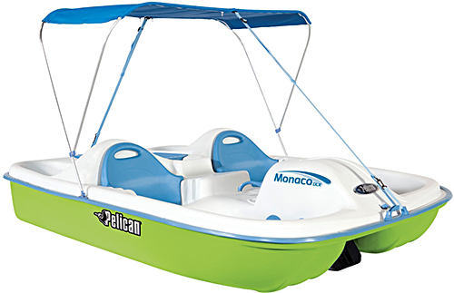 Pelican Monaco DLX Pedal Boat  sc 1 st  My Sports Boats & Pelican Monaco DLX Pedal Boat For Sale