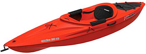 Sun Dolphin Aruba 10 SS Kayak Red