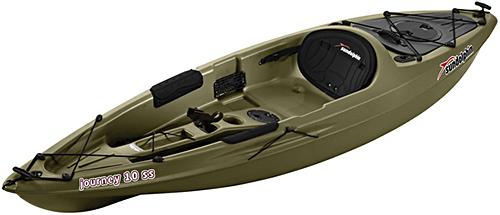 Sun dolphin journey 10 ss fishing kayak for sale for Sun dolphin fishing kayak