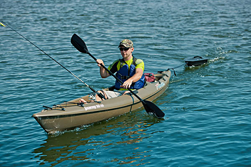 Sun dolphin journey 12 ss fishing kayak for sale for 12 fishing kayak