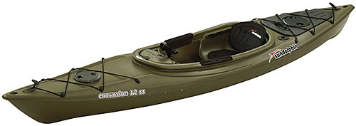 Sun dolphin excursion 12 ss fishing kayak for sale for Fishing kayak sale