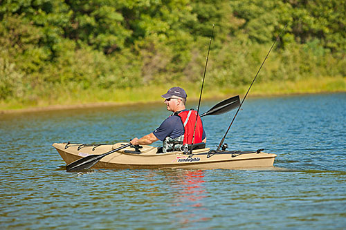 Sun dolphin excursion 12 ss fishing kayak for sale for 12 fishing kayak