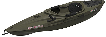 Sun dolphin excursion 10 ss fishing kayak for sale for 10 ft sun dolphin fishing kayak