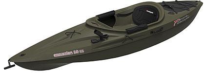 Sun Dolphin Excursion 10 SS Fishing Kayak