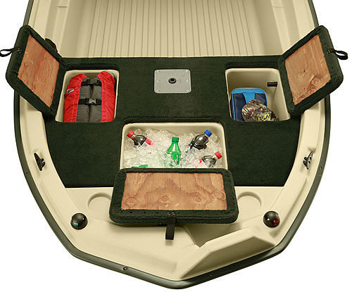 Pro 120 Front Compartments