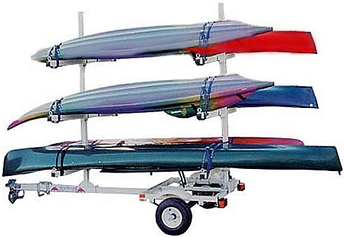 Magneta UKT6 6 Kayak Trailer