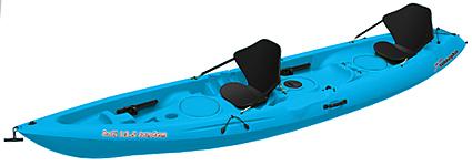 Sun Dolphin Bali 13.5 Tandem Kayak