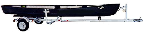 Magneta USSCT1 Canoe Trailer
