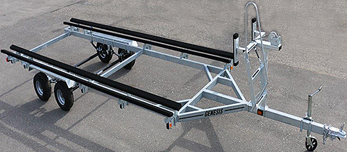 Genesis Pontoon Trailer (shown with optional ladder)