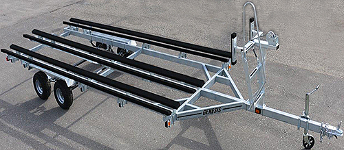 Tritoon Trailer (shown with optional ladder)