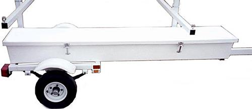 OSB1 Poly Oar/Paddle/PFD Storage Box - 92L x 14W x 12H