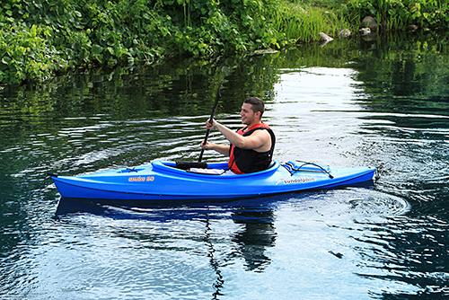 Sun Dolphin Aruba 10 Kayak Blue
