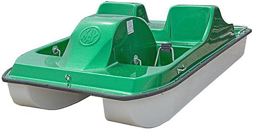 Kaypark Pedal Cruiser 4 - Green Glitter