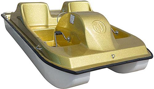 Kaypark Pedal Cruiser 4 - Gold Glitter