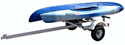 Magneta RRT60 Kayak & Canoe Rack Trailer