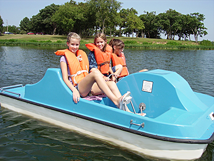 Kaypark Pedal Cruiser 4 - Blue